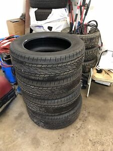 Set of 4 275/55r20 continentals brand new
