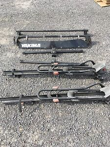 Yakima roof rack and bike carriers