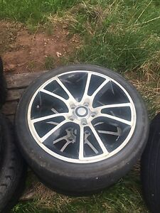Old rims and tires need gone asap