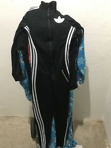 Adidas jumpsuit side m fits like small