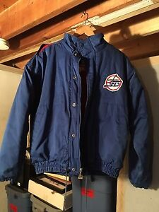 Winnipeg jets vintage winter jacket