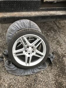Mercedes AMG oem rims and tires