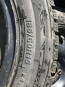 Winter tires 15 inch