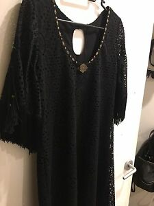 Black tassel dress Malvern Stonnington Area Preview