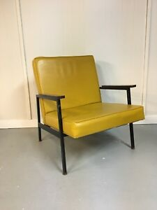 Retro/Mid Century Mustard Chair