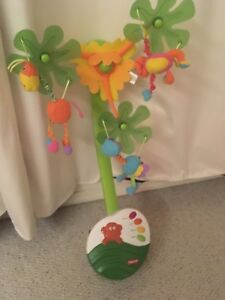 Baby mobile for crib or change table