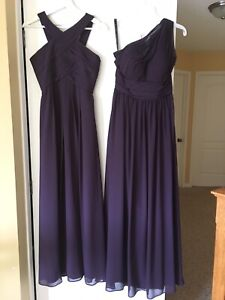 Beautiful Bridesmaid's Gowns