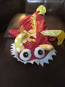 Halloween Pet costume - Red Dragon