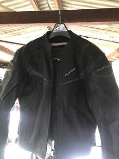 R Jays leather jacket