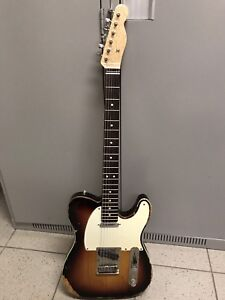Fender USA Tele/Warmoth chunky AAA Birdseye neck.