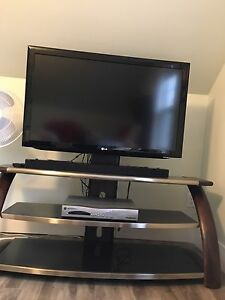 "42"" LG TV...LG SOUNDBAR...MOTOROLA RECEIVER & STAND"