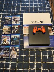 PS4 Slim 500gb with one controller