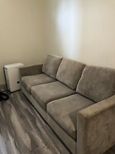 Grey couch & love seat