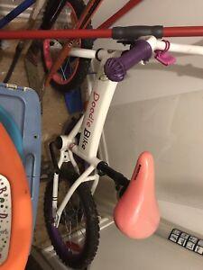 Vélo neuf fillette