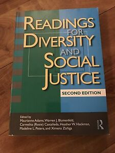 Readings for Diversity & Social Justice Textbook
