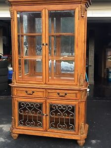 Ashley Furniture Table and Hutch - $450 OBO