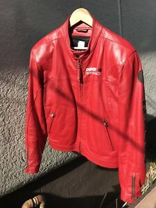 Ducati Red Leather Jacket