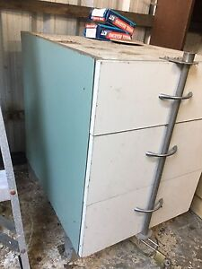 Lockable 3 drawer chest of drawers for workshop $25 ono South Hobart Hobart City Preview