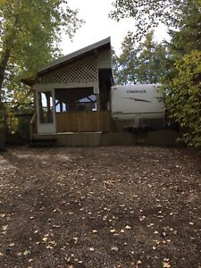 TRAILER & RECREATIONAL LOT FOR SALE AT WAKAW LAKE