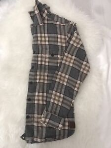 Roots M's Flannel | Size XS