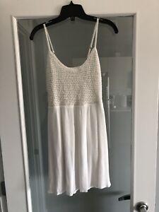 Garage White Dress