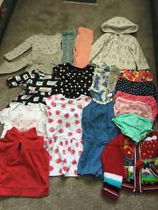 18 month girls clothing lot