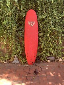 Strapper 7ft softboard surfboard