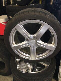 "4x Auscar 18"" Rim plus tyres"