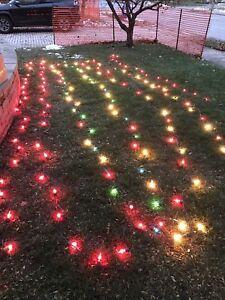 Christmas lights outdoor/indoor 147ft / 175 lights