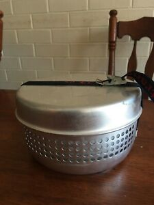 As new Trangia complete set camping/hiking stove, pans and kettle.
