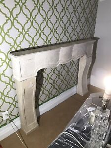 Architectural Stone Fire Place