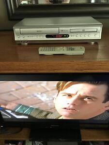 Toshiba SDV-291 DVD/VCR VHS Player Combo w/ remote works A1