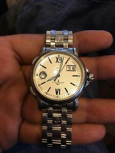 Ulysse nardin gmt Big date stainless steel