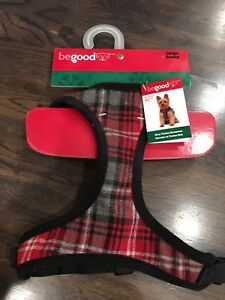 Dog Harness in Plaid- Brand New w Tags