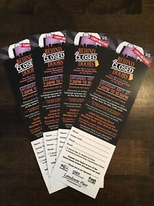"Four FREE Passes for ""Behind Closed Doors!"""