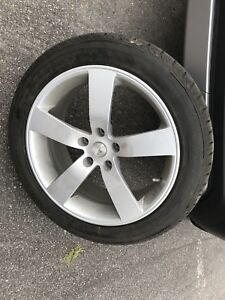 Mags plus winter tires 245-45-18