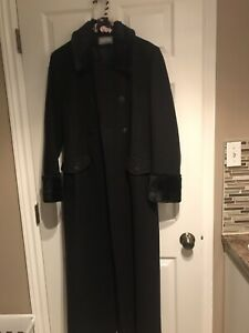 Womens Long Winter Dress Coat