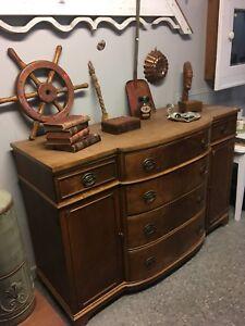 Antique sideboard $350