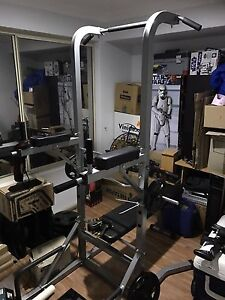 Brand new home gym with bars and weight plates Seville Grove Armadale Area Preview