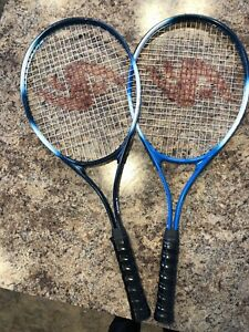 2 beginners tennis rackets