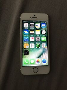 iPhone 5s 16GB Silver lock by bell
