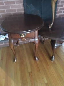 Coffee and end tables need restore