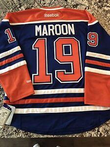 Brand new Edmonton Oilers Patrick Maroon jersey