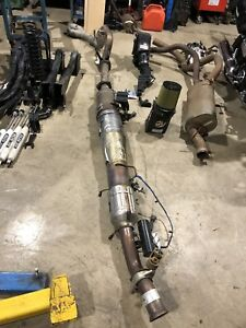 Complete powerstroke DPF system