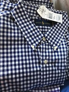 Brand new Ralph Lauren shirts