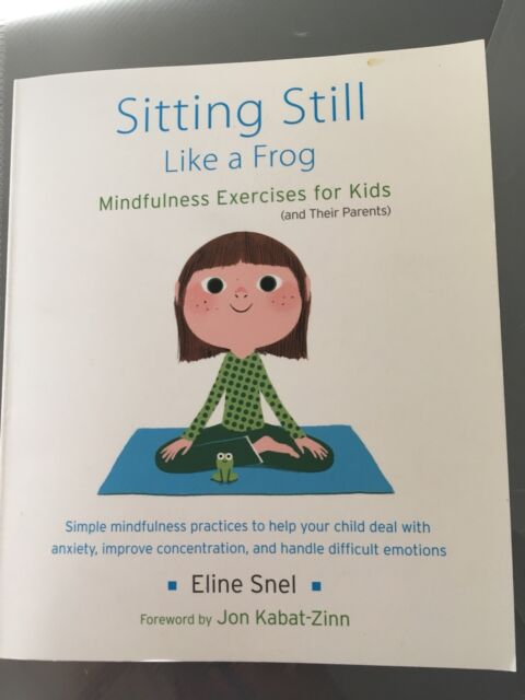 Sitting Still Like A Frog Book And Cd Brand New Childrens Books
