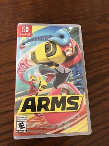 Arms Nintendo Switch like new