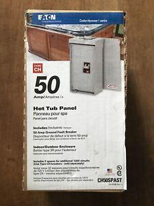 50 Amp Hot Tube Panel