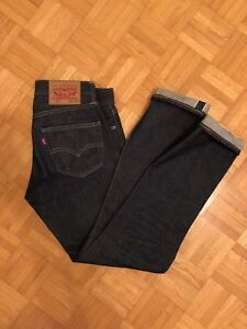 Men's Levi's 511 slim selvedge denim