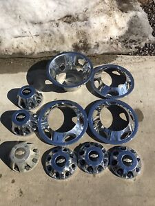 2012 Chev 3500 wheel covers and hubcaps